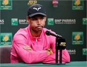 rafael nadal withdraws from semi final of indian wells tennis tournament
