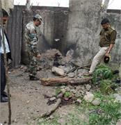 blast in army camp of kathua