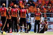bairstow at warner  s home setback to hyderabad with return