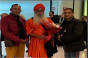 baba pargat nath arrival italy
