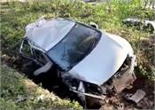 madhya pradesh car accident 4 hockey players death