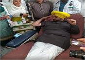 bhagwant mann  birthday  blood donation  sangrur