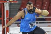 tejinderpal singh toor  athletics championships