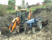 amritsar  illegal mining  ponds