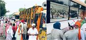 warm welcome of international nagar kirtan