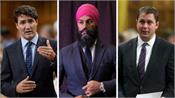 canada  elections 4 days left  political leaders gain momentum