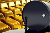 in crude oil  gold rose sharply