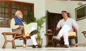 akshay kumar gets pm modi s interview