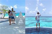 rohit family on holiday including family in maldives after winning ipl trophy