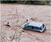 panchkula suddenly water dry river
