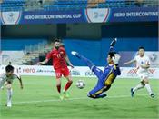 syria beat north korea 5 2 in intercontinental cup football