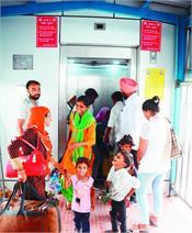 bathinda   railway station  lift stop
