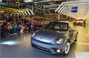 volkswagen stops iconic beetle car production