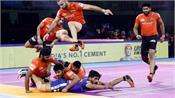 the haryana steelers defeated yu mumba 30 27