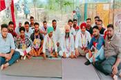 bhawanigarh  toll plaza workers  hunger strike