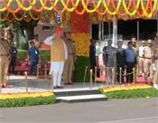 amit shah passing out parade in hyderabad