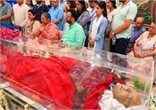 arun jaitley to be cremated