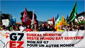 protests begin in protest against g 7 summit in france