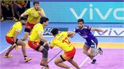 pro kabaddi league  haryana beat gujarat in a thrilling contest