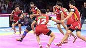 pro kabaddi league  bangalore defeated yu mumba 35 33