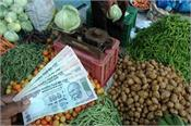 retail inflation peaks      common man  s household budget shakes
