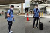indian team arrives in australia  see pictures