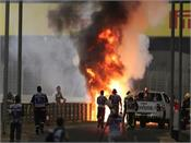 big accident at bahrain grand prix