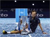 daniil medvedev  atp finals  won   title
