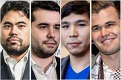 skilling open chess  carlson in the semifinals without a win