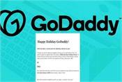 godaddy apologises over fake christmas bonus phishing email
