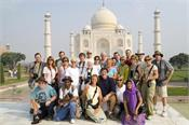 foreign tourists numbers swell in india