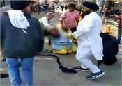 mansa man beaten