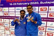 sathiyan and sharath kamal won silver