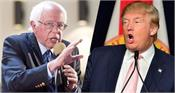 delhi violence begins in us politics  sanders blames trump