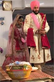 during the curfew the couple get married