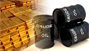 reduced imports of cheap crude oil and gold