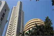 the sensex gained 658 points and the nifty opened above 9700