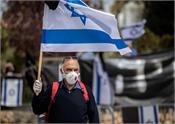 8000 israel beat corona