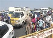 coronavirus lockdown traffic jam in chennai