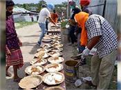 gurudwara sri guru singh sabha contributed 2200 food packets