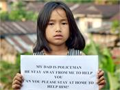 9 year old girl  s appeal to the people