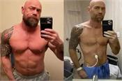 corona  s bodybuilder  s bad condition  lost 21 kg weight