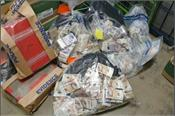 police 1 million shoe boxes and bags