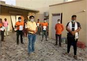 lockdown 4 10 laborers travel from delhi to bihar by plane