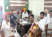 security meeting dharamkot locust swarms