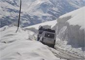 the manali leh route was opened for small vehicles