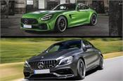 mercedes amg c 63 coupe and updated gt r launched in india