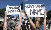 protests in washington against george  s death