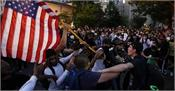 violence erupts in us  curfew in 25 cities