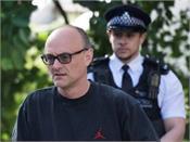 british pm johnson  s aide commits minor breach  police